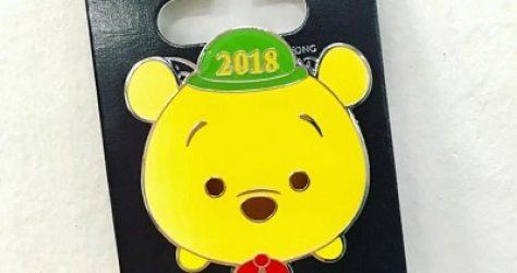 Tsum Tsum Winnie The Pooh Cast Pin