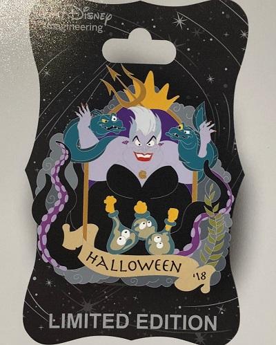 Ursula Halloween 2018 WDI Pin