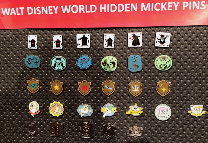 Disney Hidden Mickey Pins 2018 Wave B - Disney Pins Blog