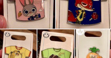 Zootopia T-Shirt Disney Pins