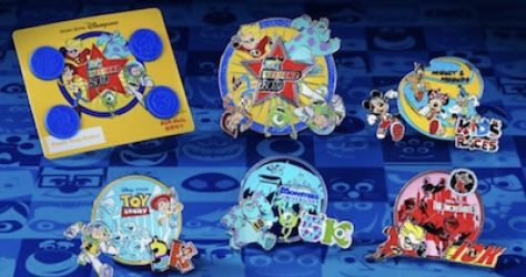 10K Weekend 2018 Disney Pins