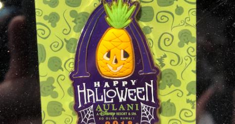 Aulani Halloween 2018 Pin