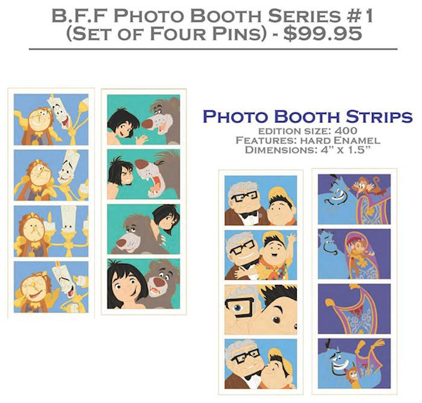 B.F.F. Photo Booth Series #1 Pins