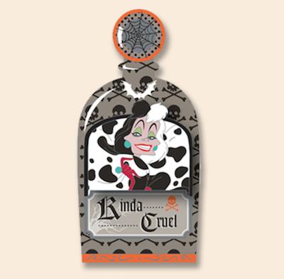 Cruella Halloween 2018 Cast Member Pin