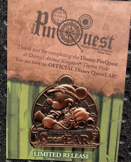DAK PinQuest Completer Pin