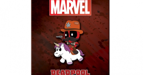 Deadpool Sheriff Riding Unicorn NYCC 2018 Pin