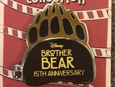 Disney Brother Bear 15th Anniversary Pin