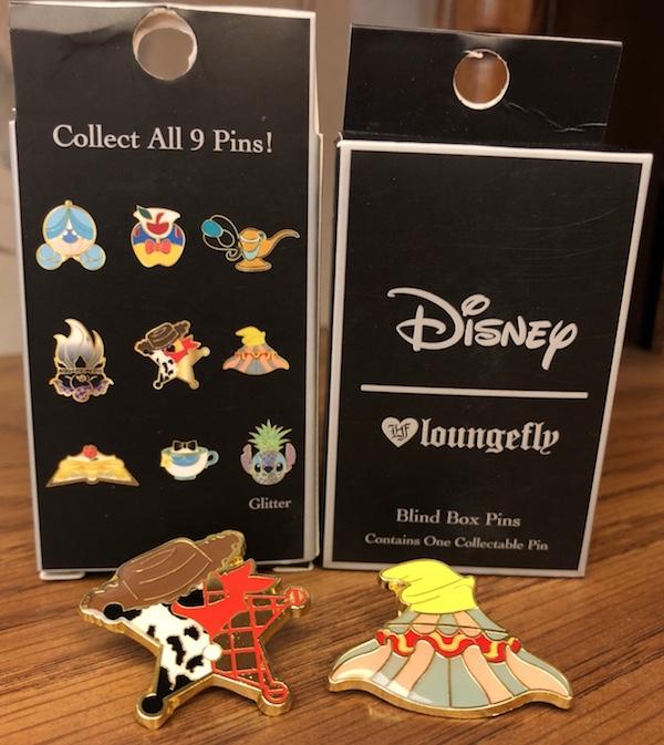 Disney Loungefly Blind Box Pins
