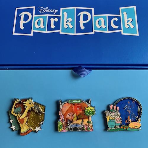 Disney Park Pack Pin Edition 3.0 – October 2018