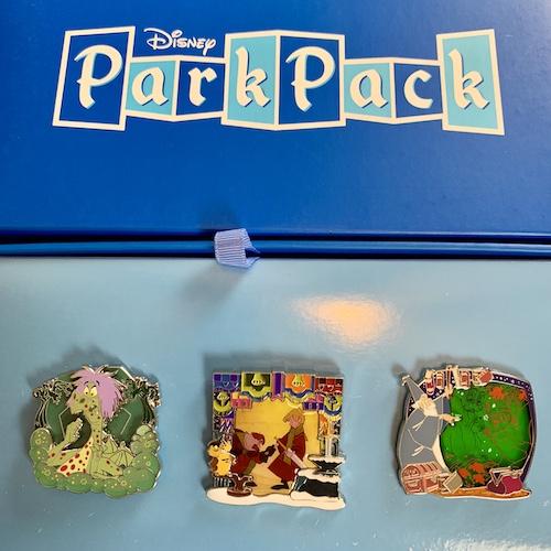 Disney Park Pack Pin Edition 3.0 – September 2018