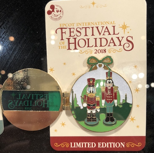 Disney Vacation Club Pin - Epcot Festival of the Holdays 2018