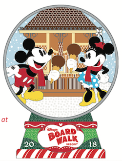 Disney's Boardwalk Gingerbread 2018 Pin