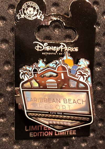 Disney's Caribbean Beach Resort Limited Edition Pin