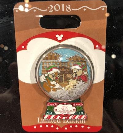 Disney's Grand Californian Gingerbread 2018 Pin