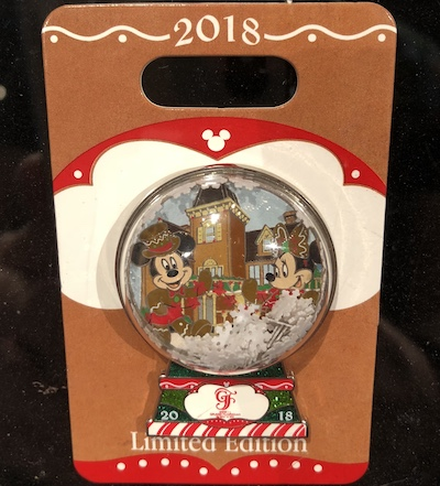 Disney's Grand Floridian Gingerbread 2018 Pin