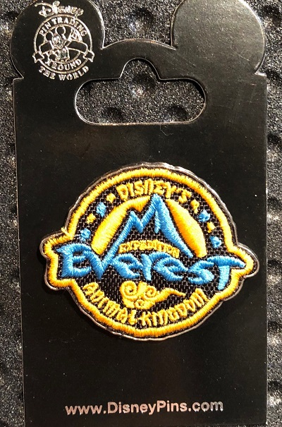 Expedition Everest Patch Disney Pin