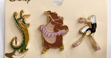 Fantasia Boxlunch Pin Set
