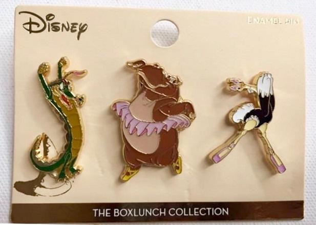 Fantasia Boxlunch Pin Set