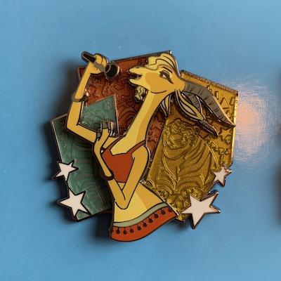 Gazelle Zootopia Park Pack Pin
