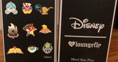 Hot Topic Disney Pins Blind Box