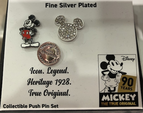 Icon. Legend. Heritage 1928. True Original Pin Set