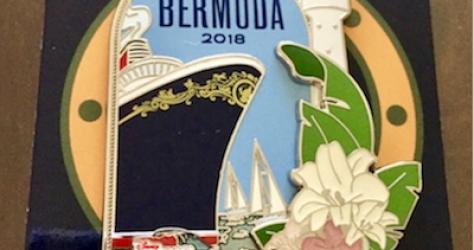 Inaugural Bermuda Disney Cruise Line Pin