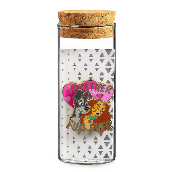 Lady and the Tramp Pin - Glass Tube - shopDisney