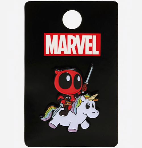 Marvel Deadpool Unicorn BoxLunch Pin
