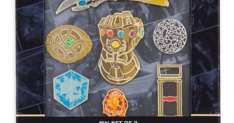 Marvel Studios 10th Anniversary Limited Edition Pin Set