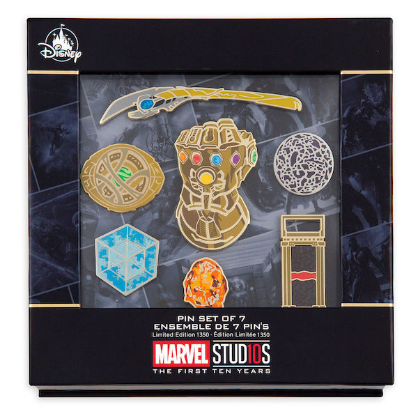 Marvel Studios 10th Anniversary Limited Edition Pin Set