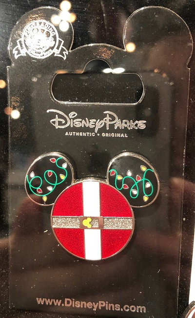 Mickey Icon Christmas Pin