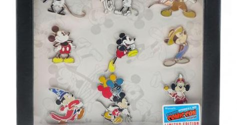 Mickey Mouse 90 Years NYCC Pin Set
