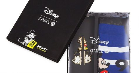 Mickey Mouse 90th Anniversary Socks and Pins Box Set by Stance