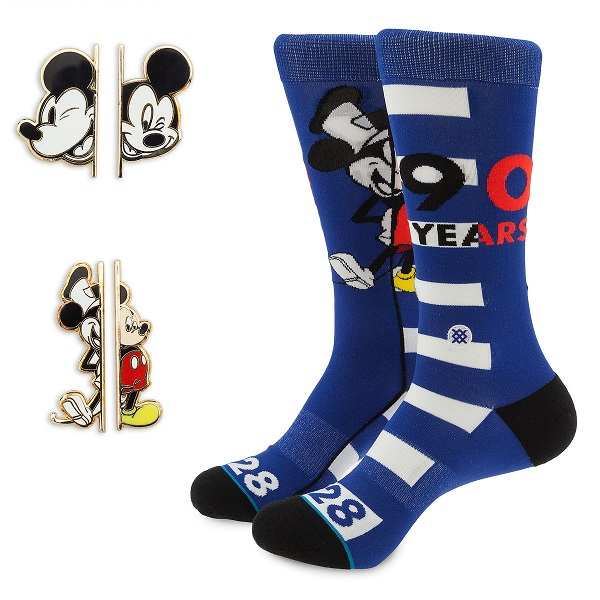 Mickey Mouse 90th Stance Pins