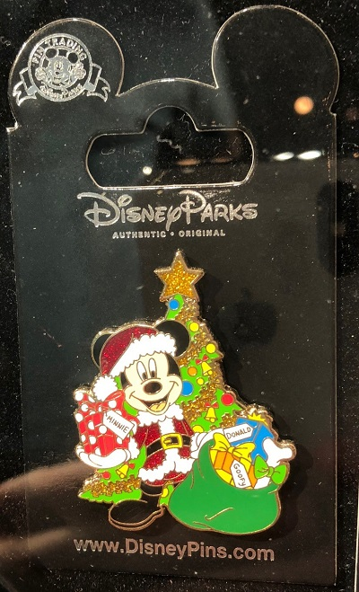 Mickey Mouse Christmas Tree Pin