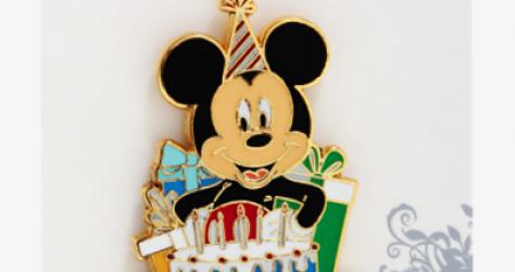 Mickey Mouse Happy Birthday BoxLunch Disney Pin