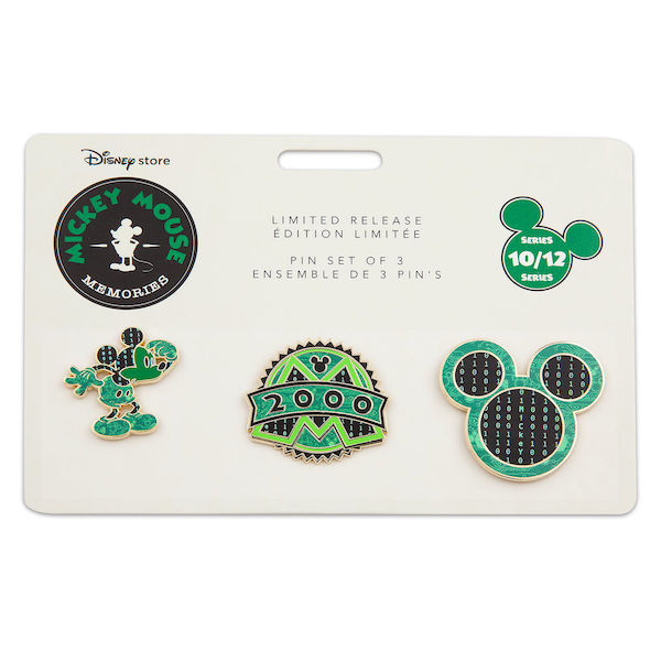 Mickey Mouse Memories Pin Set #10