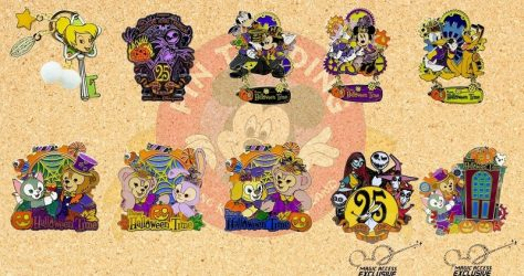October 2018 Limited Edition Pins at HKDL
