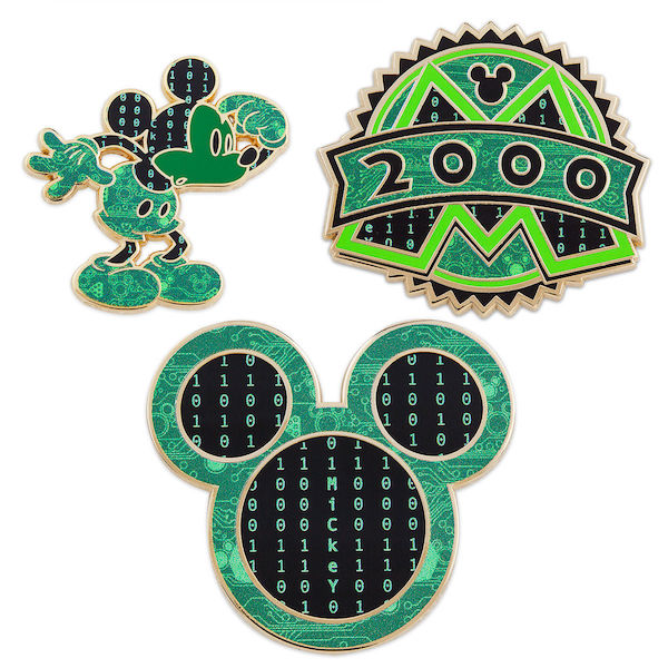 October 2018 Mickey Mouse Memories Pin Set