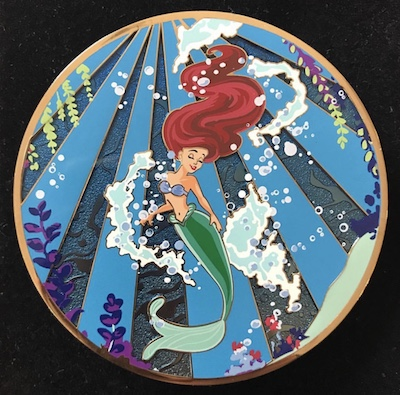 Part of Your World Ariel Golden Magic LE 300 Pin