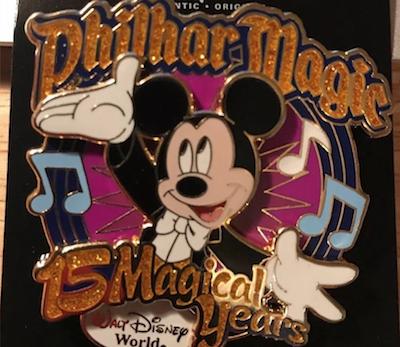 PhilharMagic 15 Magical Years Pin
