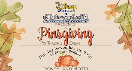 Pinsgiving Pin Trading Event