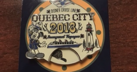 Quebec City DCL Pin