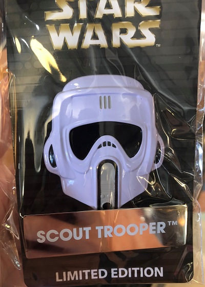 Scout Trooper Helmet Disney Pin