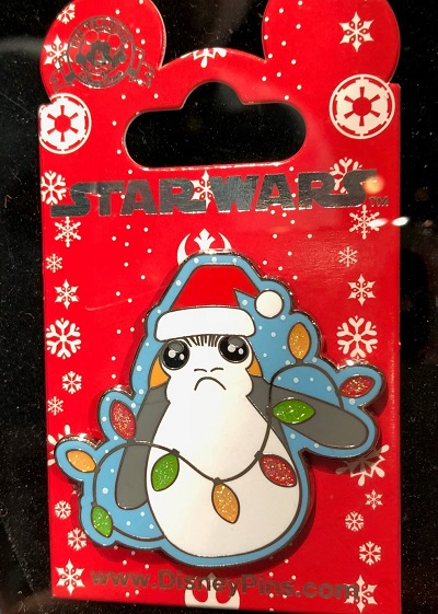 Star Wars Porg Christmas Pin