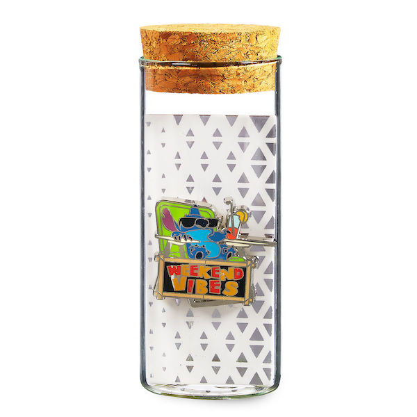 Stitch Pin - Glass Tube - shopDisney