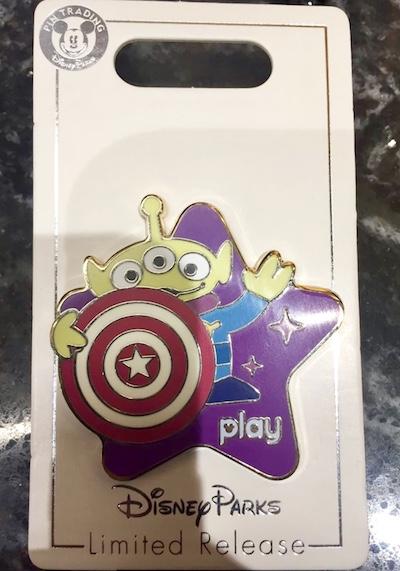 Toy Story Mania! Play Disney Parks Pin
