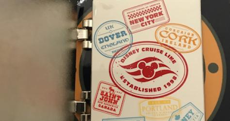 Transatlantic 2018 Disney Cruise Line Pin Inside