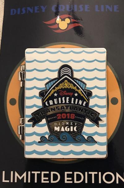 Transatlantic 2018 Disney Cruise Line Pin