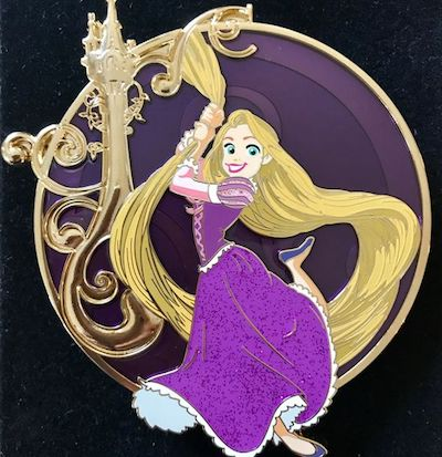 Treasured Classics Rapunzel Acme Pin